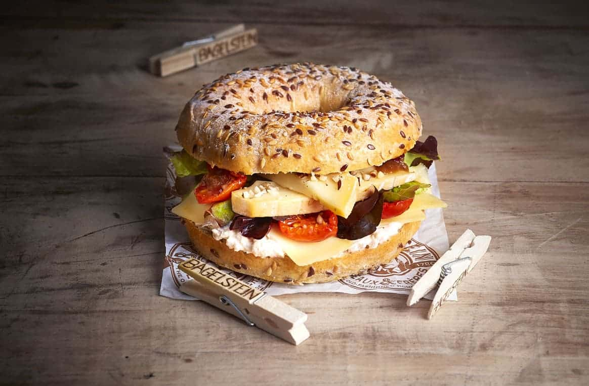 Bagelstein lance son Bagel aux 3 fromages