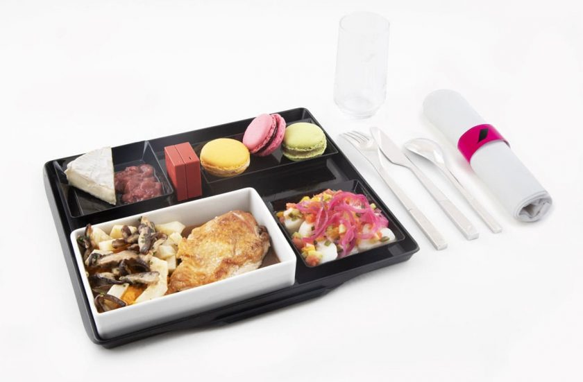 Air France à la table de Fauchon